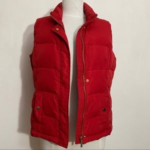 CHARTER CLUB Petite puffer zip/snap front vest MP
